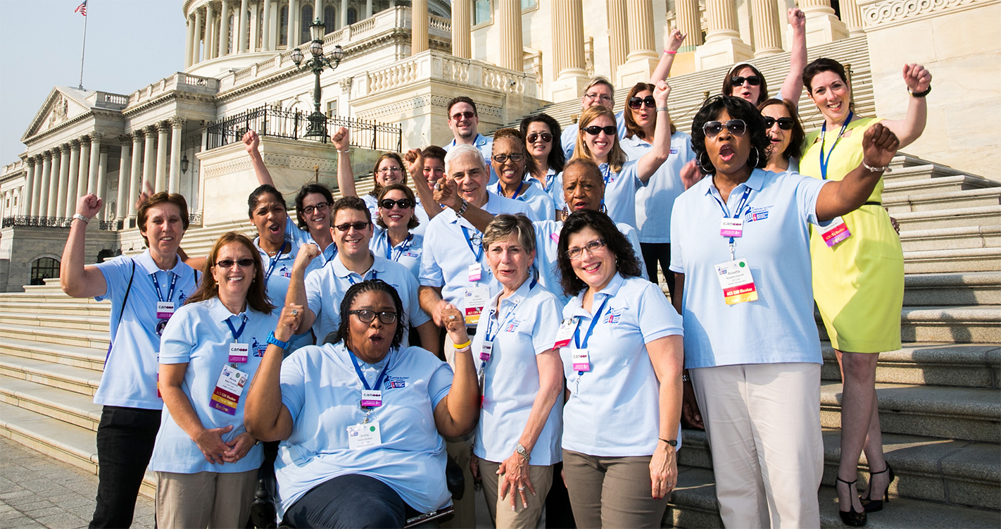 Photo of ACS CAN Volunteers at Lobby Day